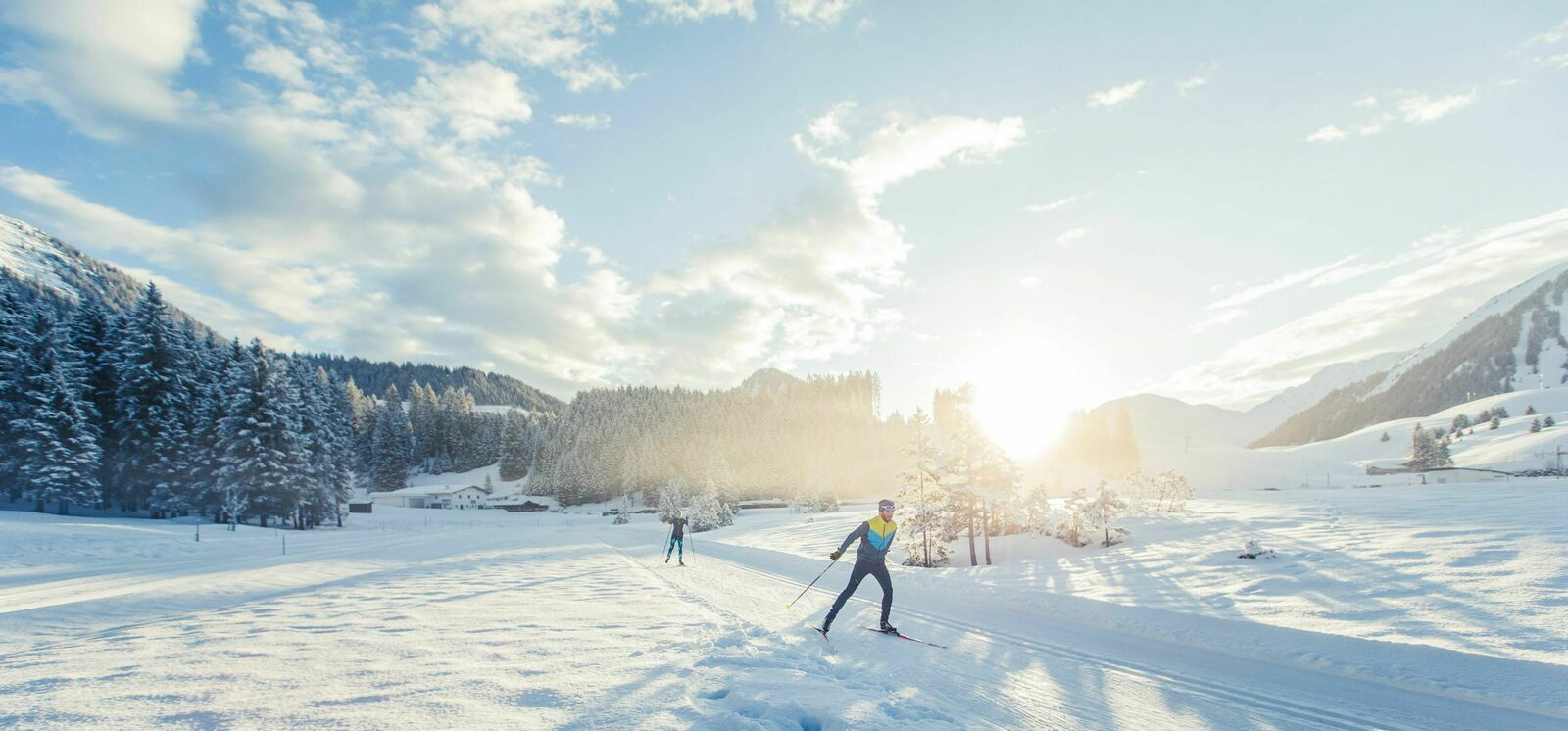 Cross country skiing in the Zugspitz Arena