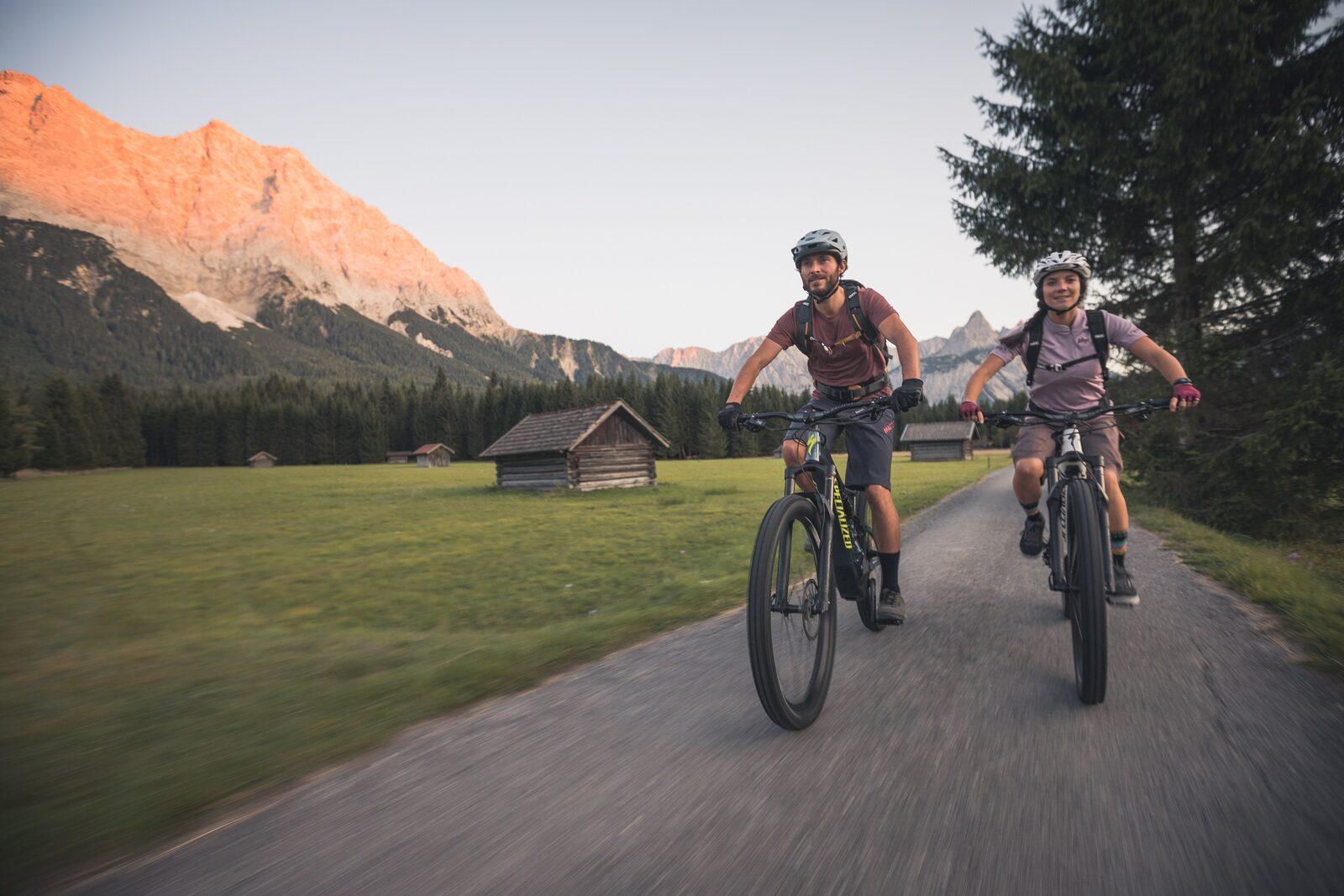 Mountainbike und Fahrradverleih