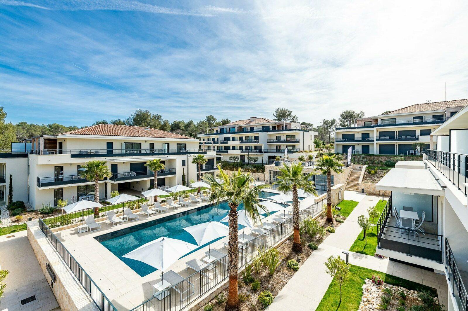 Résidence Evancy à Vence - location de vacances sur la Côte d'Azur