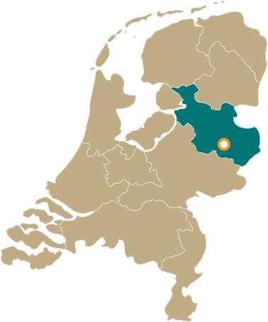 Omgeving kaart