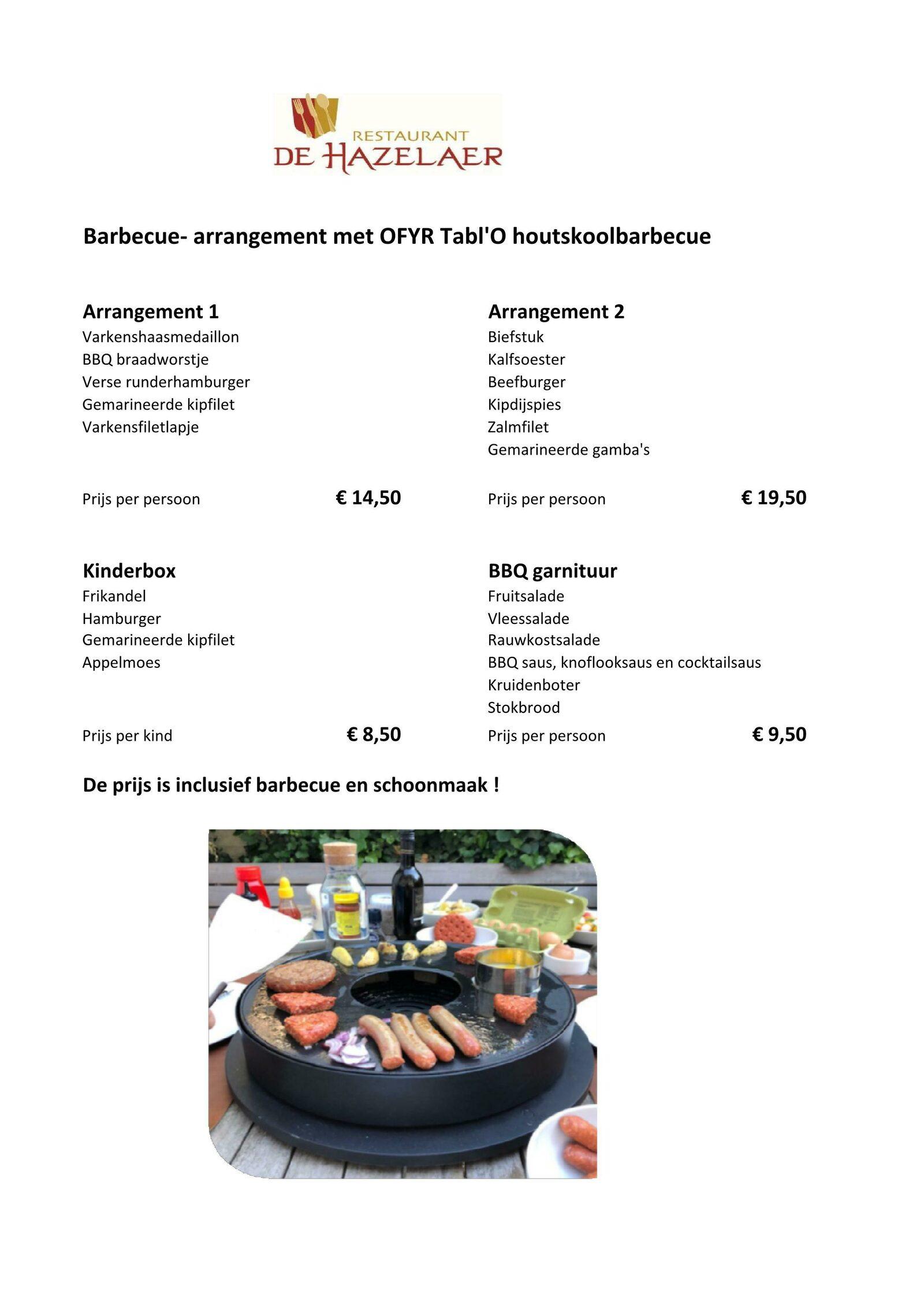 BBQ service Hof van Salland