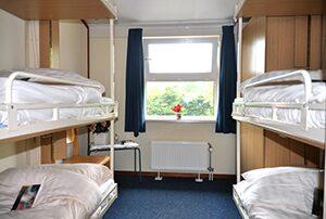 Herberg slaapkamer