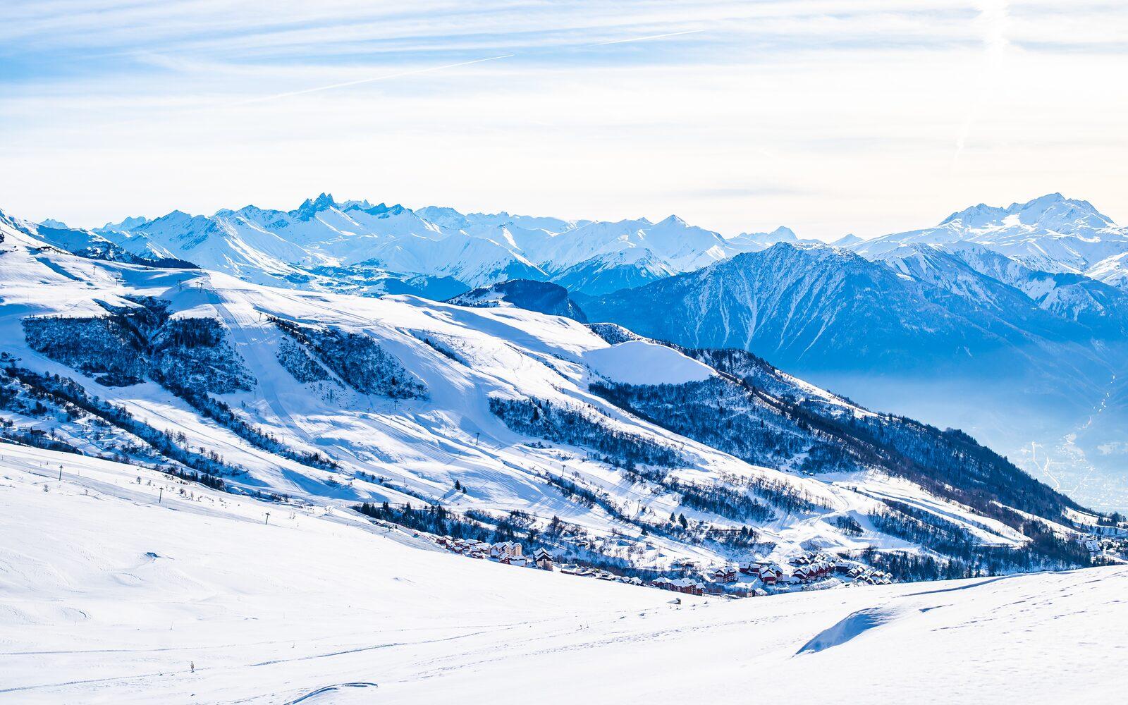 Wintersport-Chalets