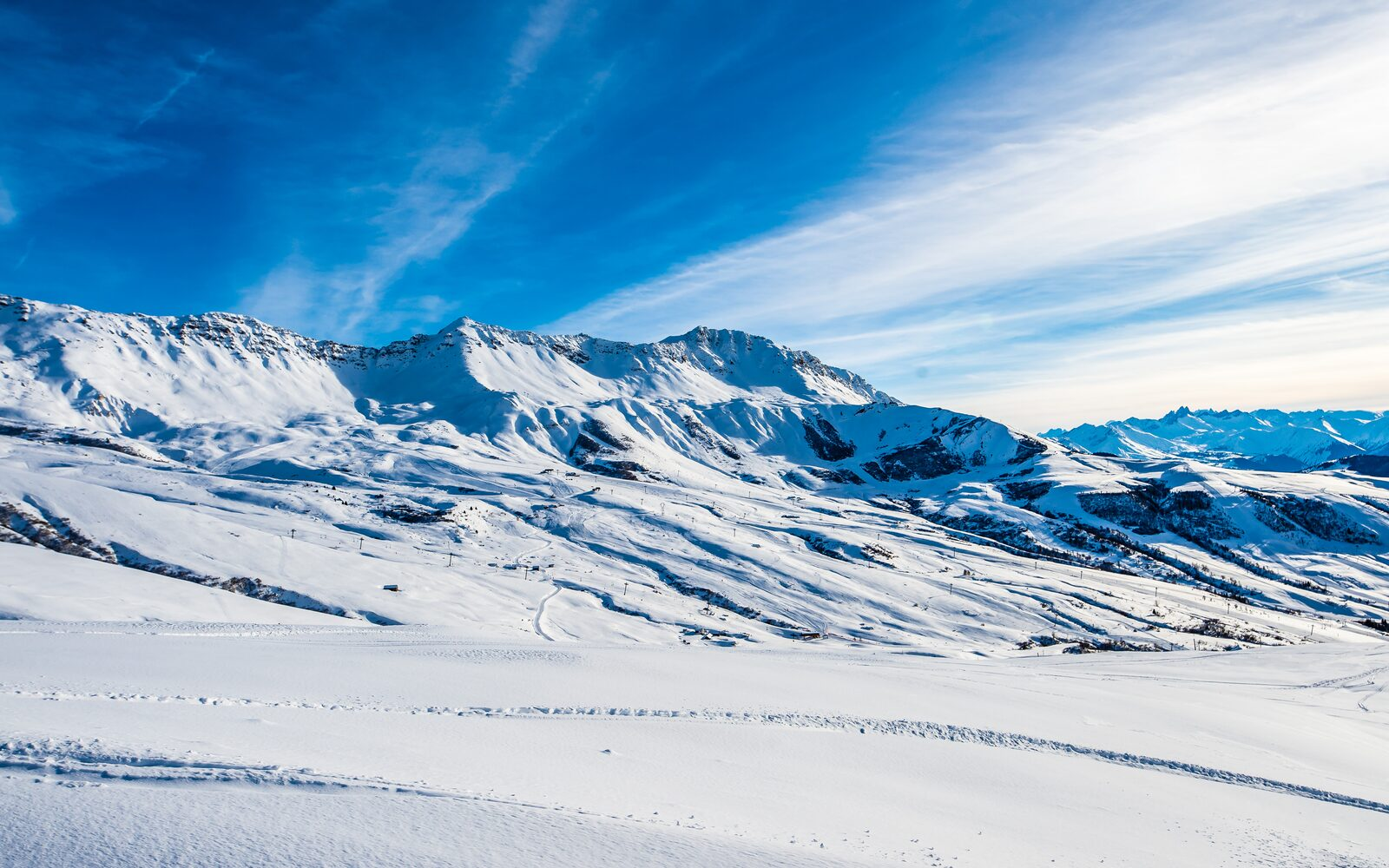 The eight greatest ski slopes of Le Grand Domaine