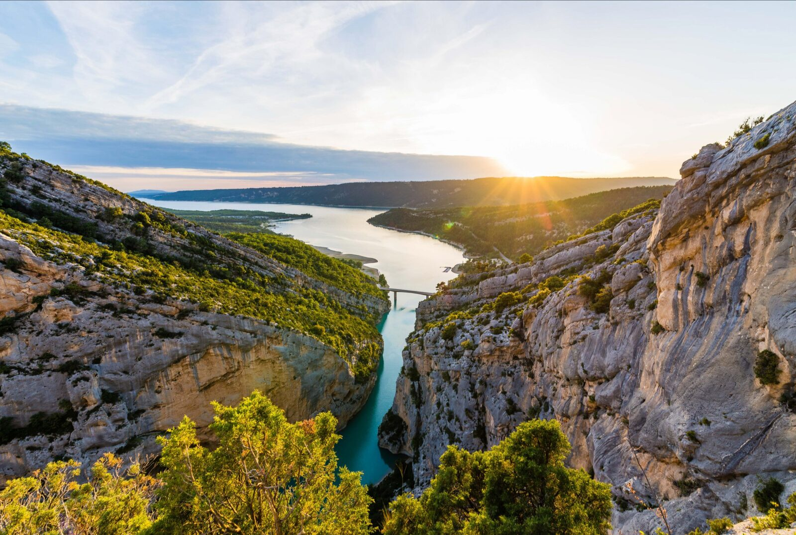 Gorges du Verdon in der Provence