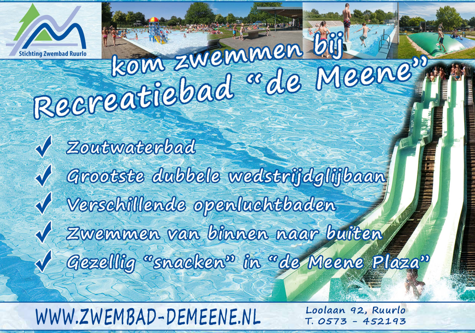 Zwembad de Meene