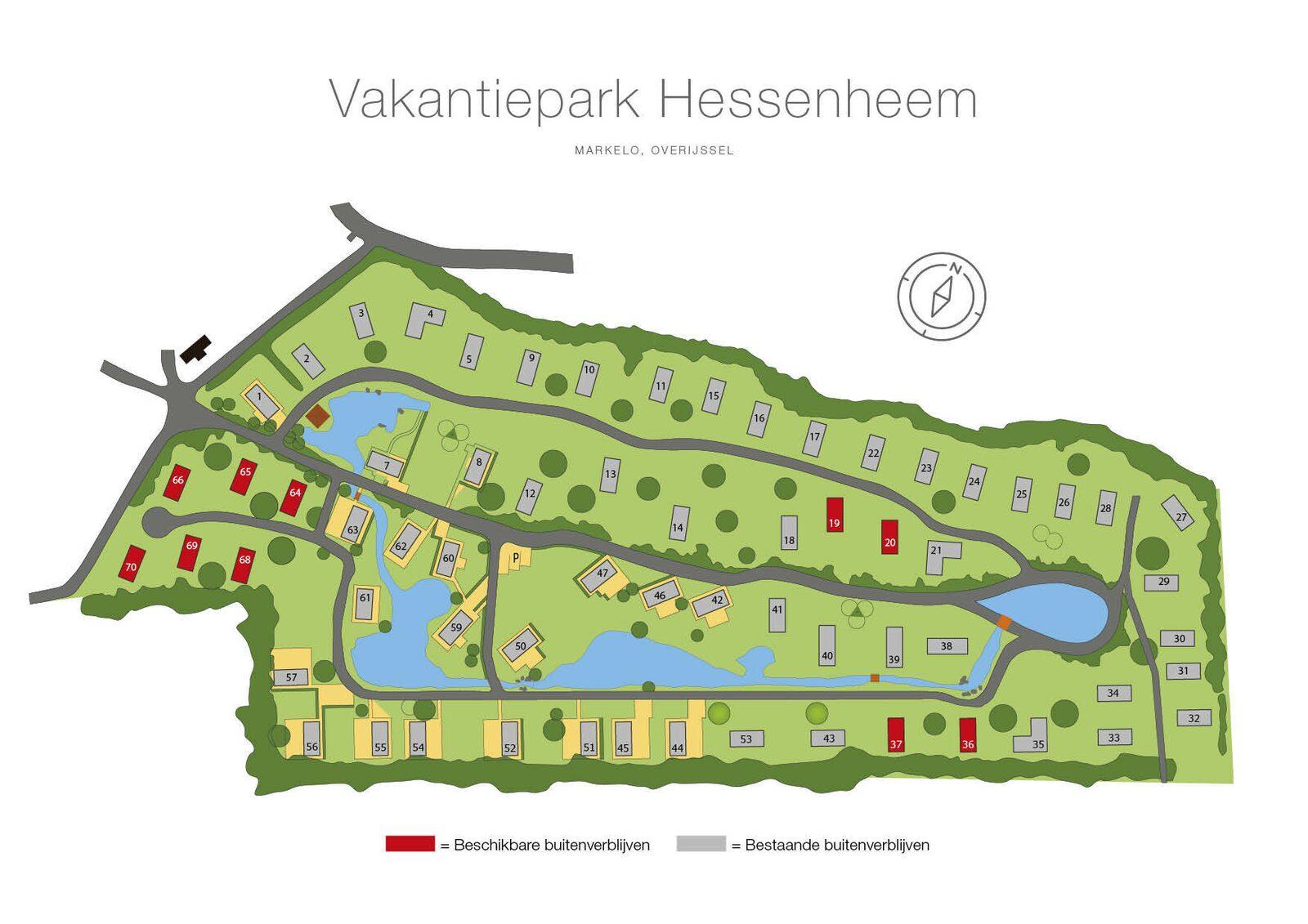 Plattegrond Hessenheem