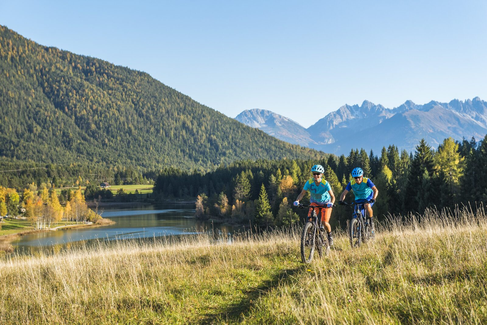 E-biken en mountainbiken in Seefeld