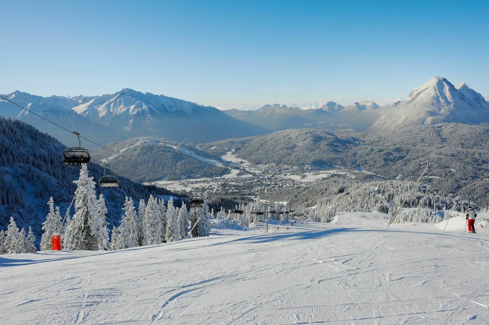 Skigebieden Olympiaregion Seefeld