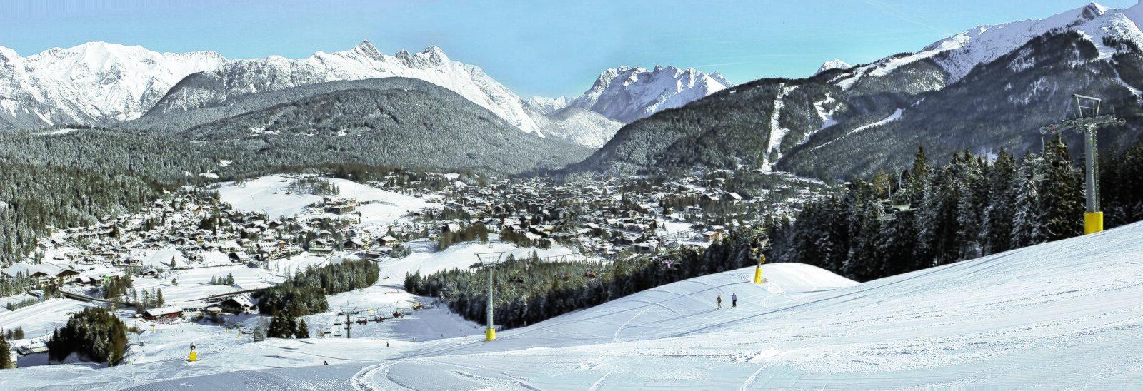 Ski area Gschwandtkopf Seefeld
