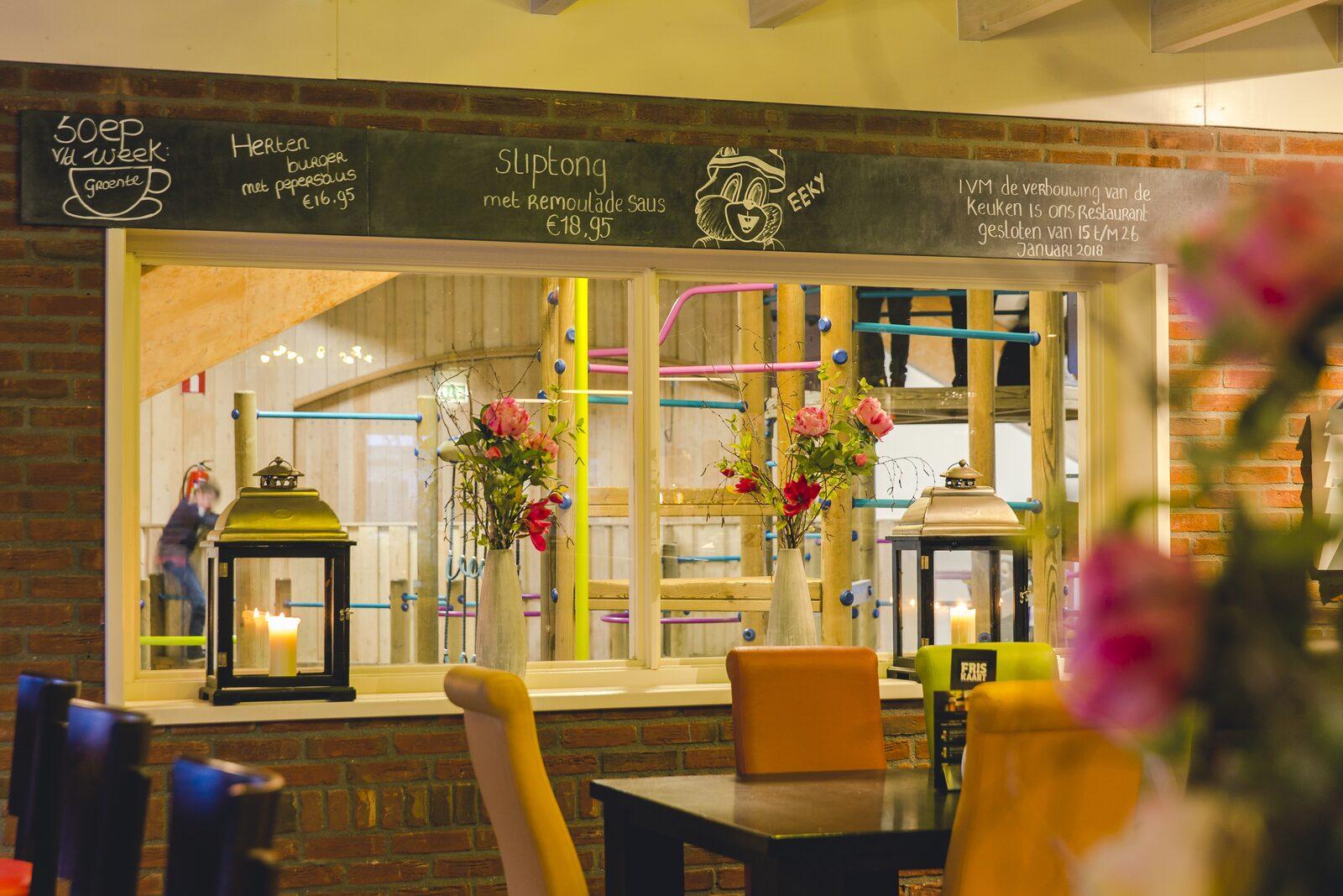 Kindvriendelijk restaurant