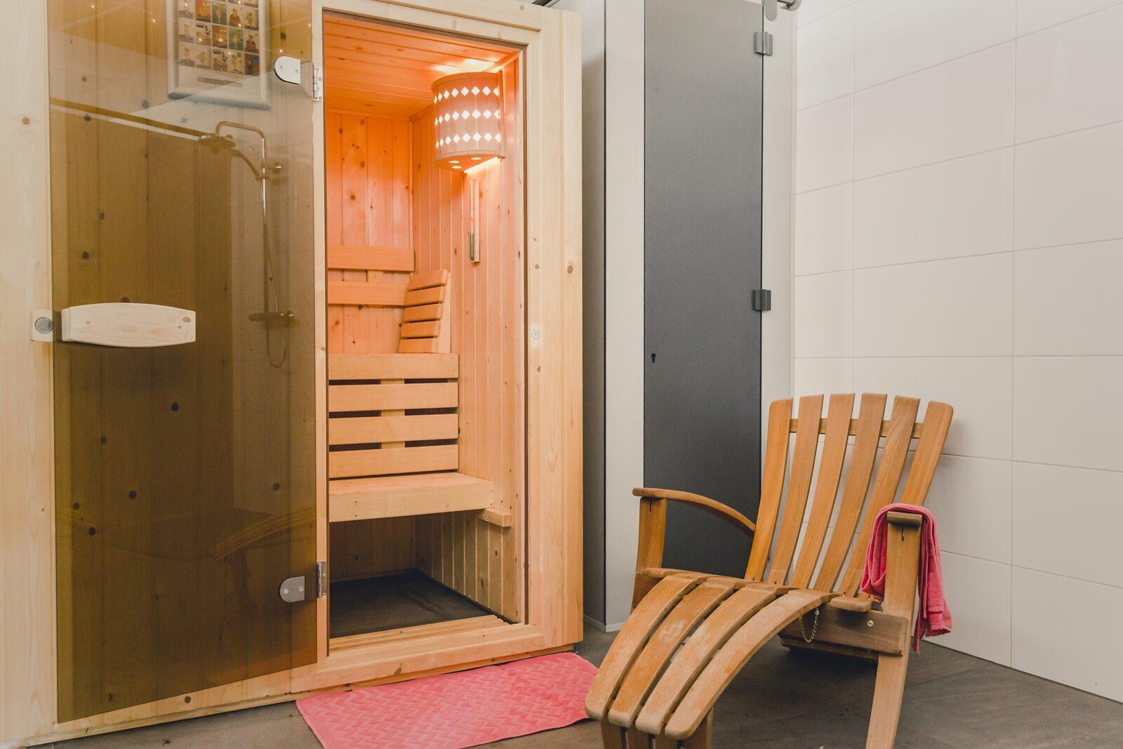 Camping met sauna