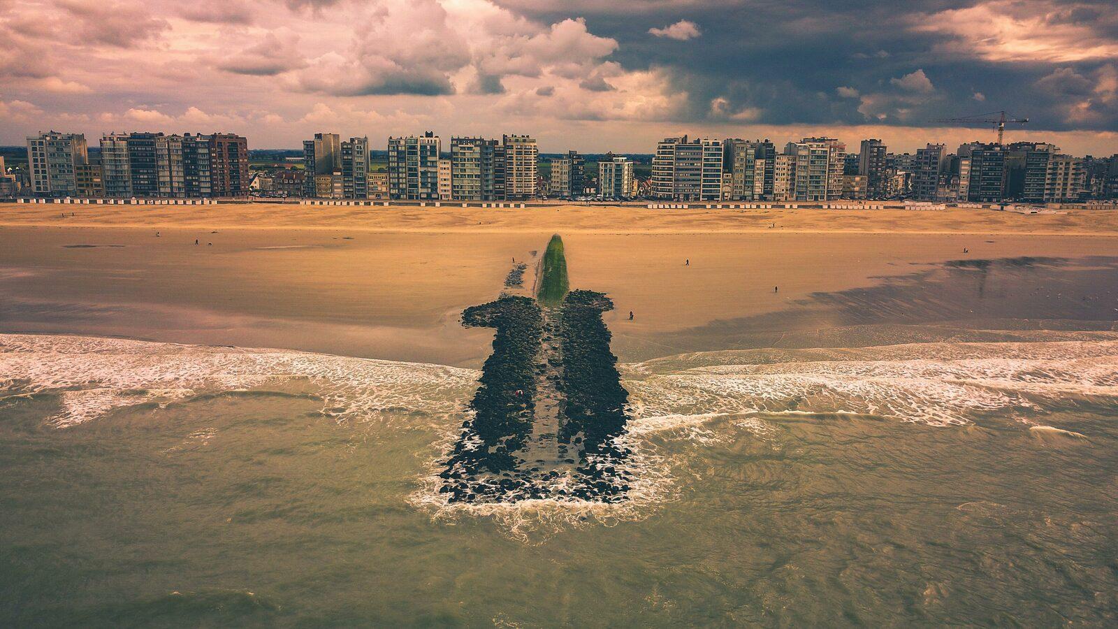 Herfstvakantie aan zee