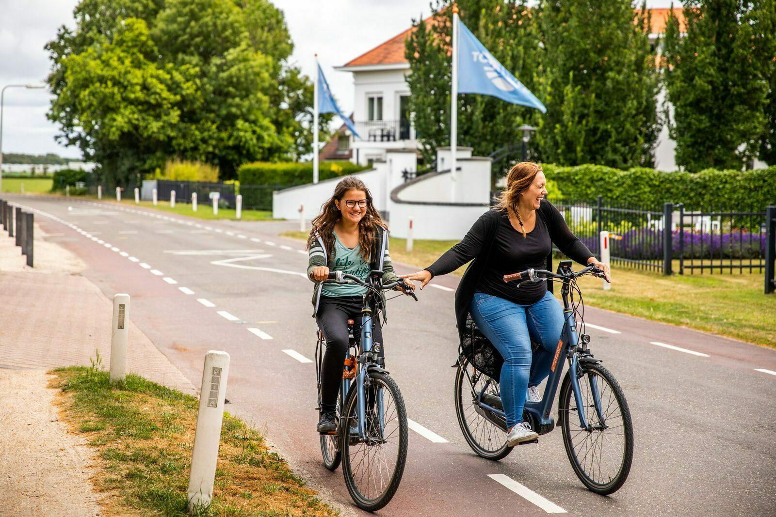 Cycling in Noordwijk