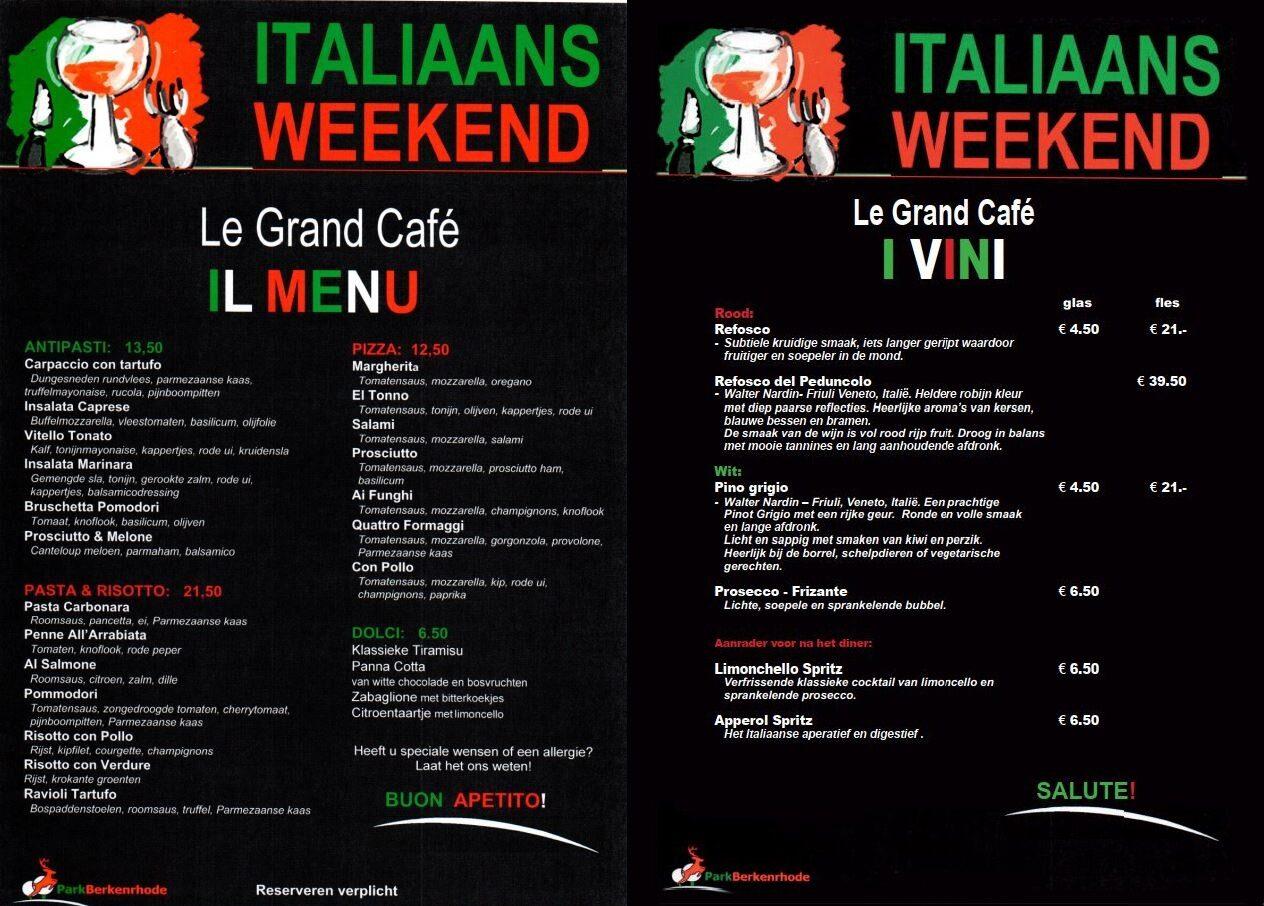 Italiaans Weekend