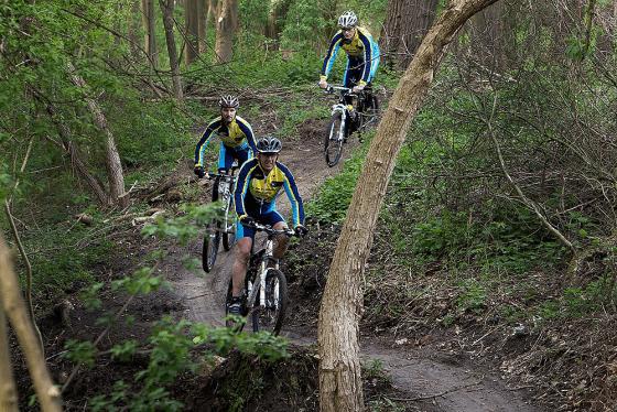 Mountainbiken in Salland