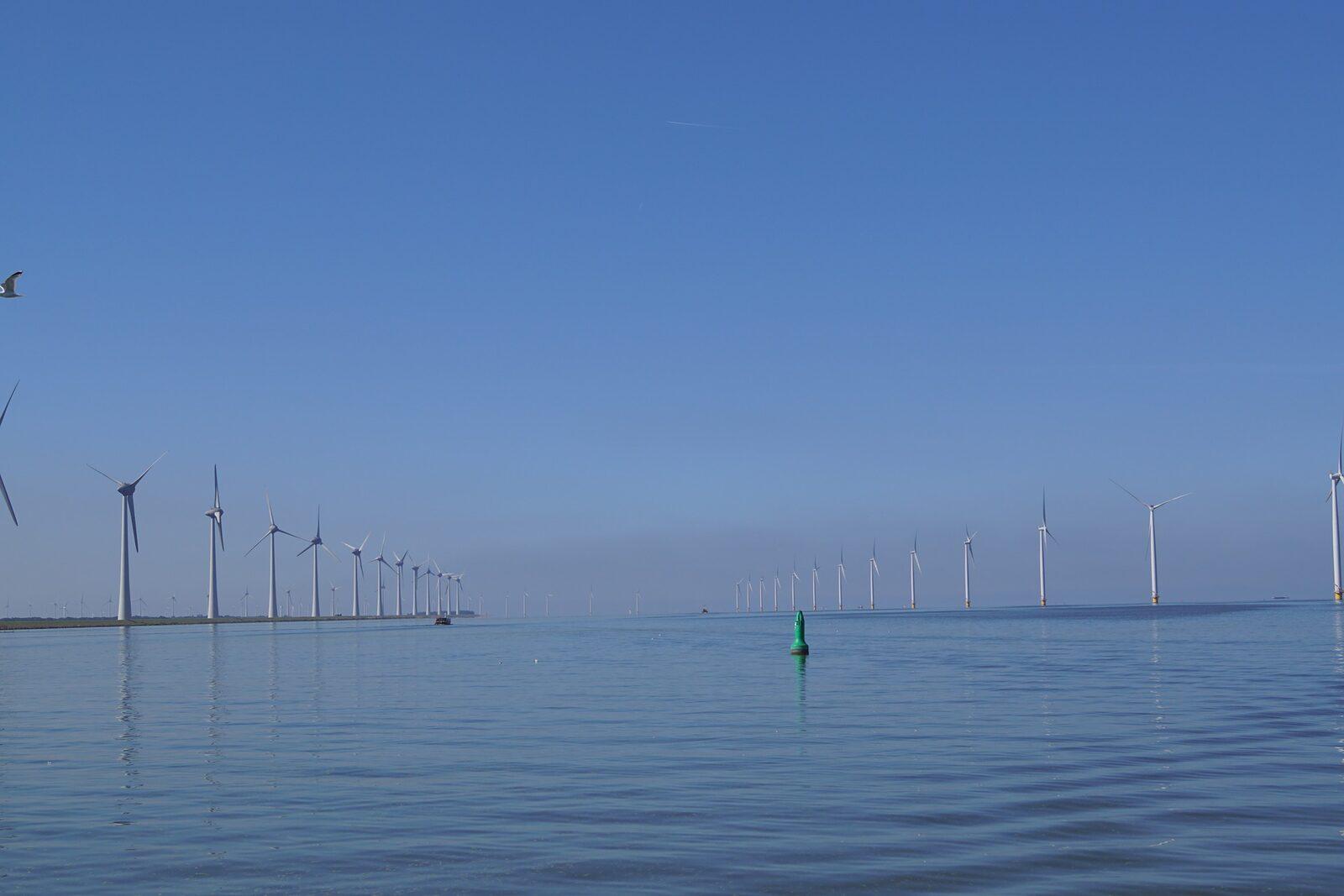 Fietsen IJsselmeer