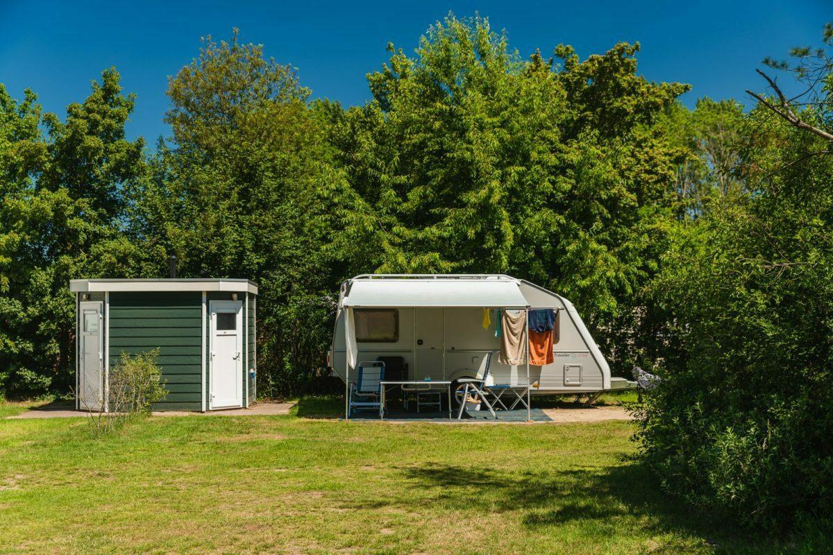 camping met privé sanitair in Twente