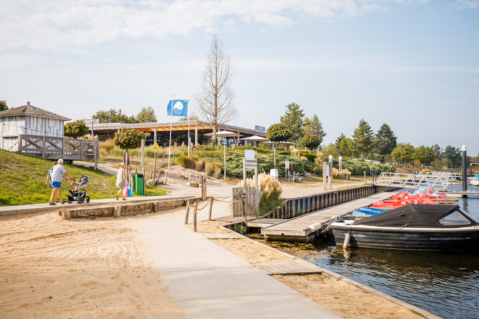 Camping met jachthaven