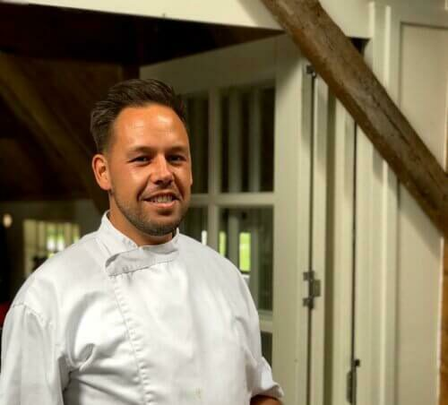 Chef Michel Brasserie de Boerderij Si-Es-An