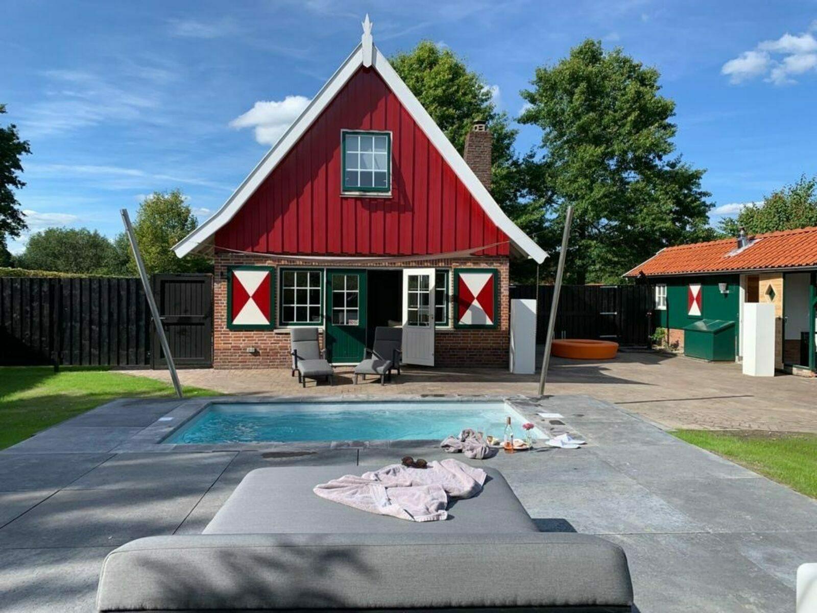 Vakantiehuis met privé zwembad Nederland