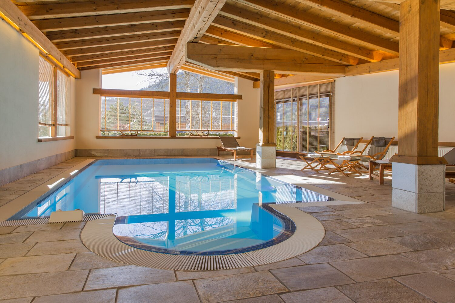 Andrada   ''Spending the evenings at the pool and sauna''