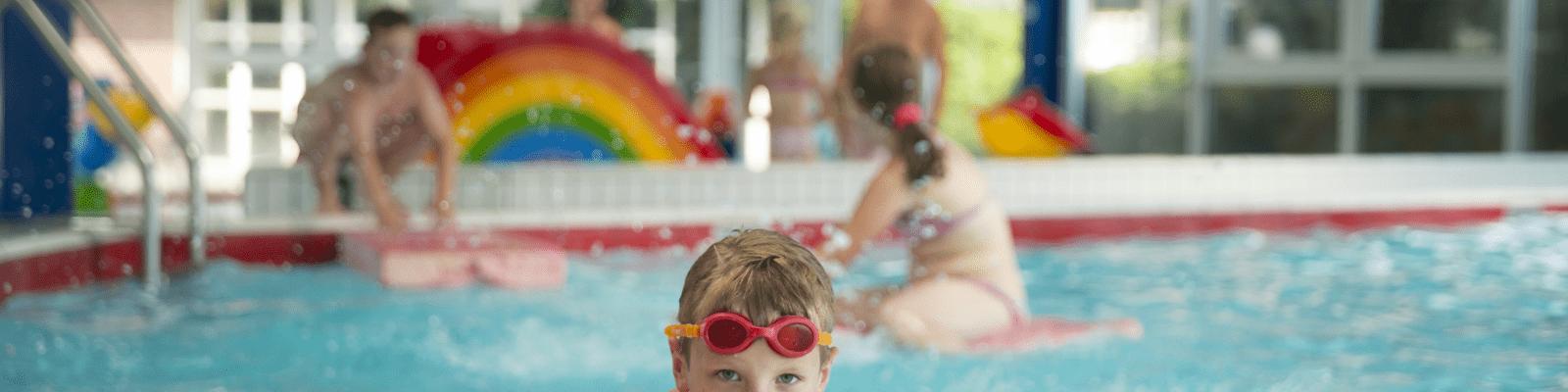 Kinderfeestje Zwemmen