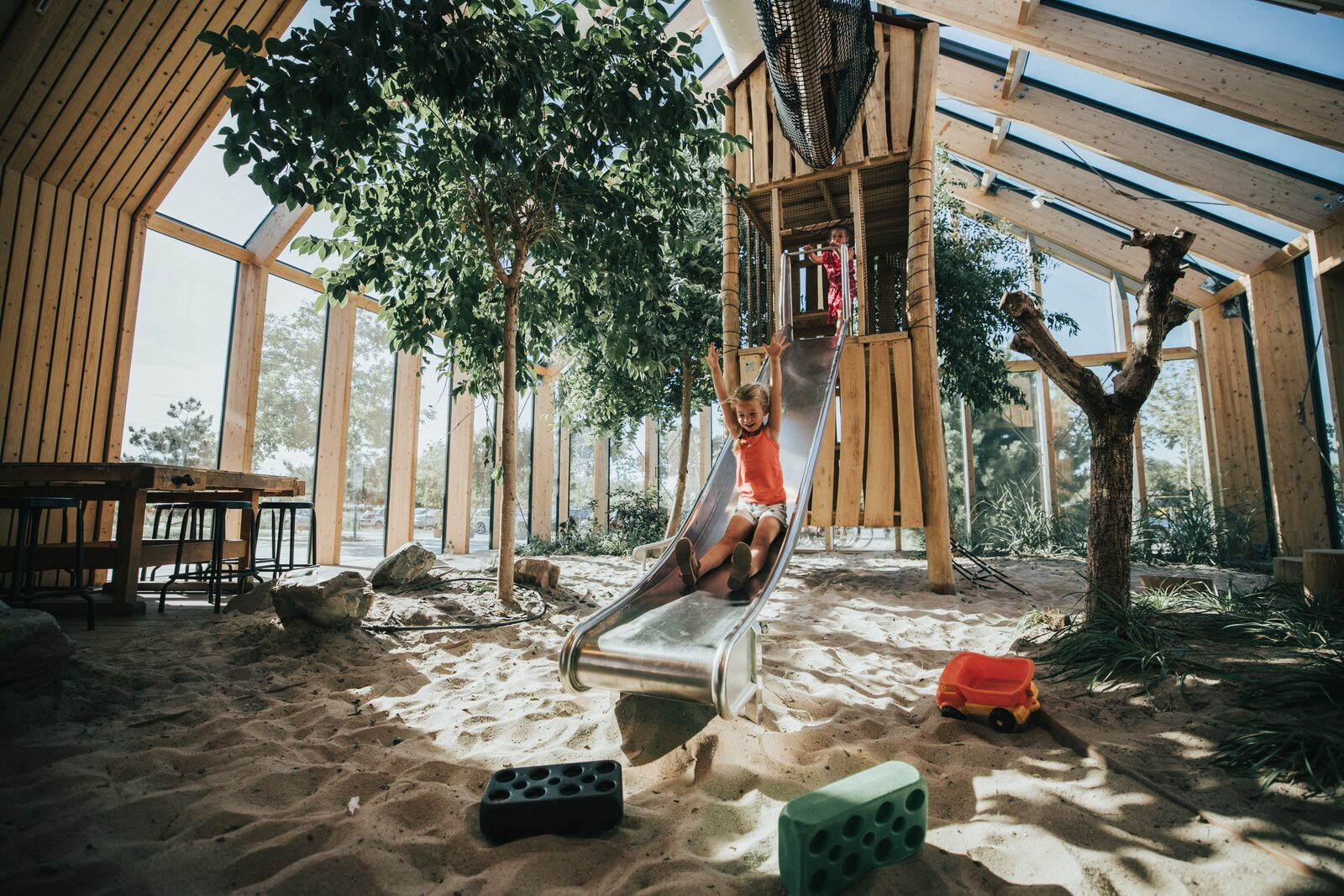 Playing indoors | Holiday Park De Klepperstee