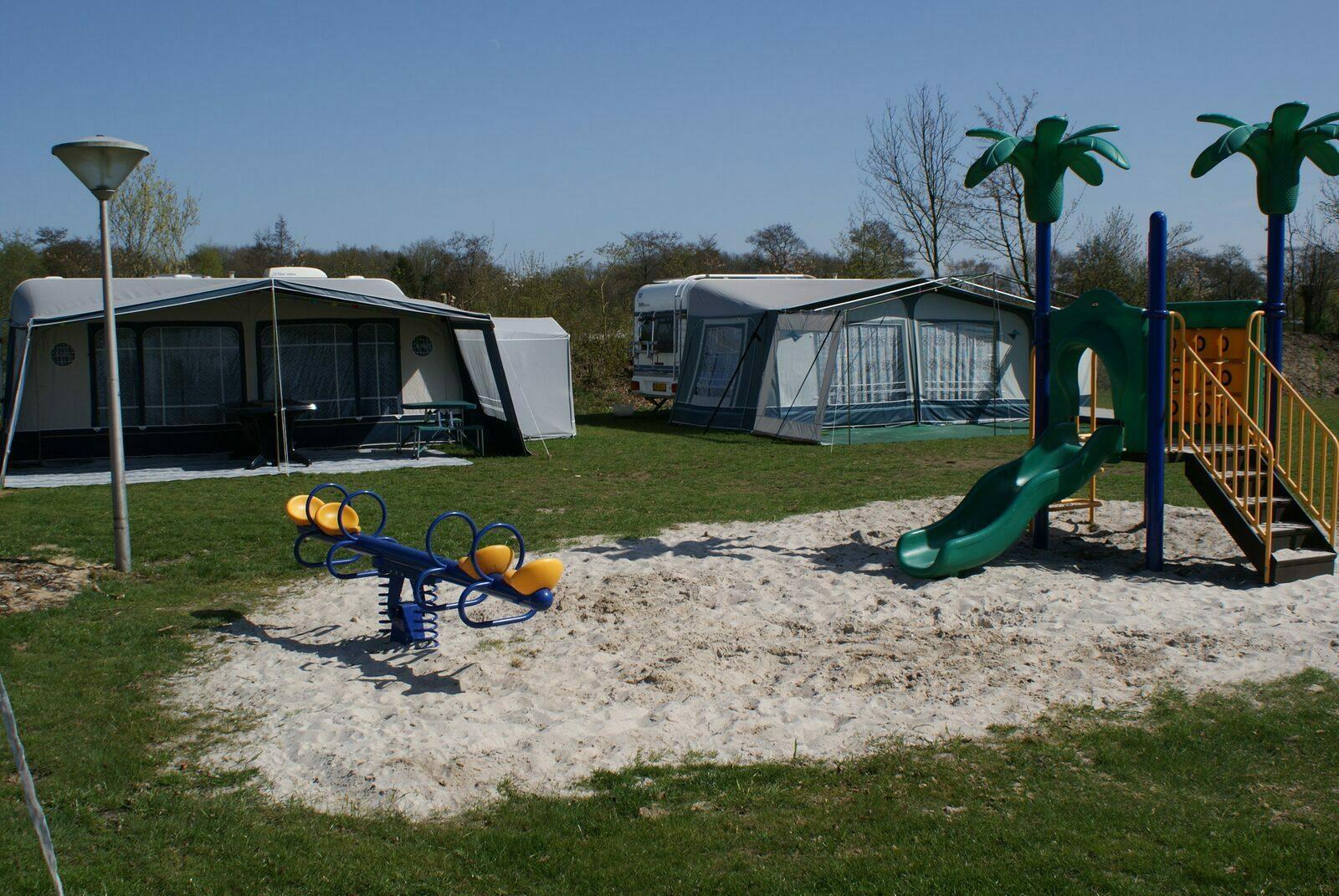 Kleine camping met privé sanitair Nederland