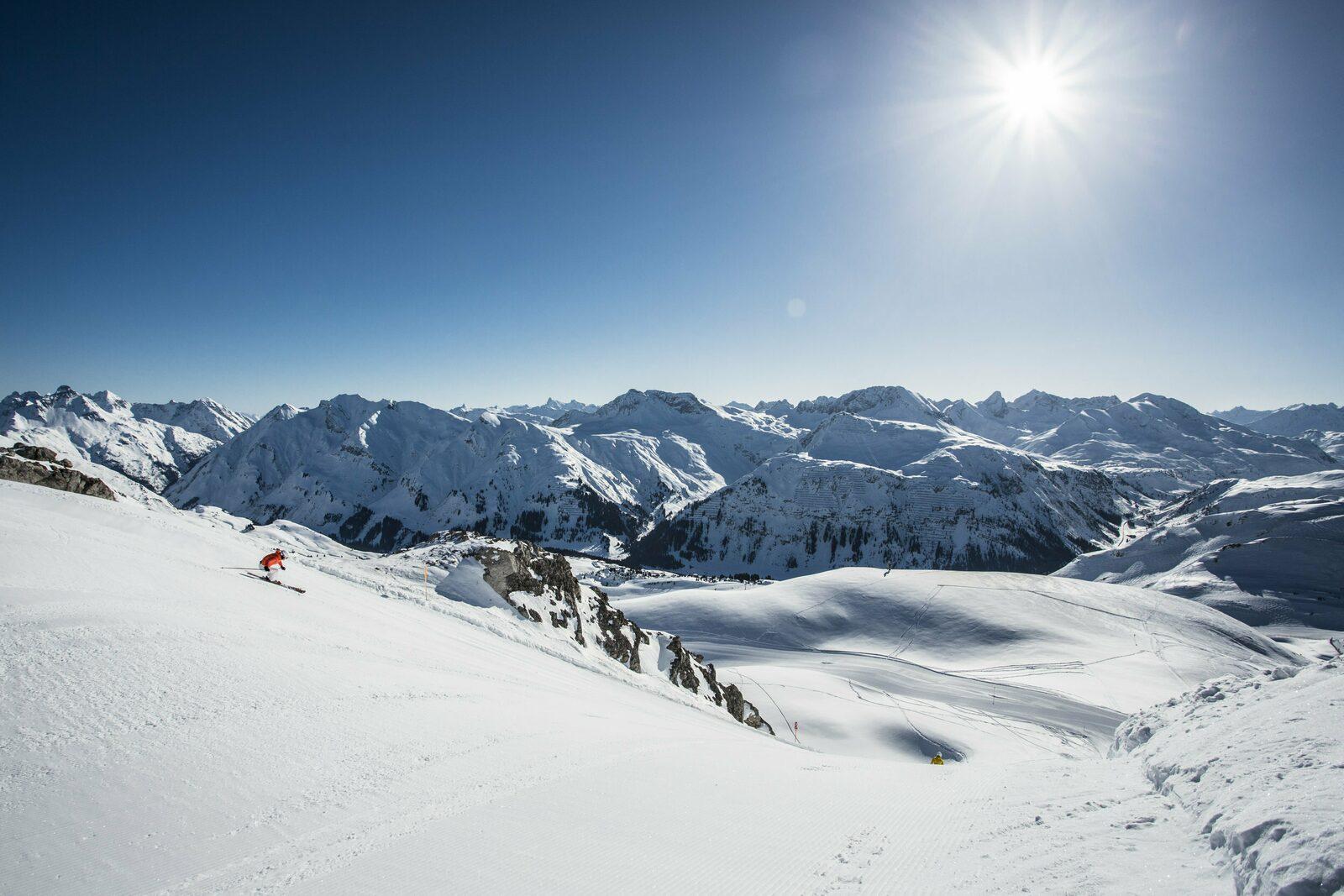 Skigebiet Lech - Oberlech - Zürs