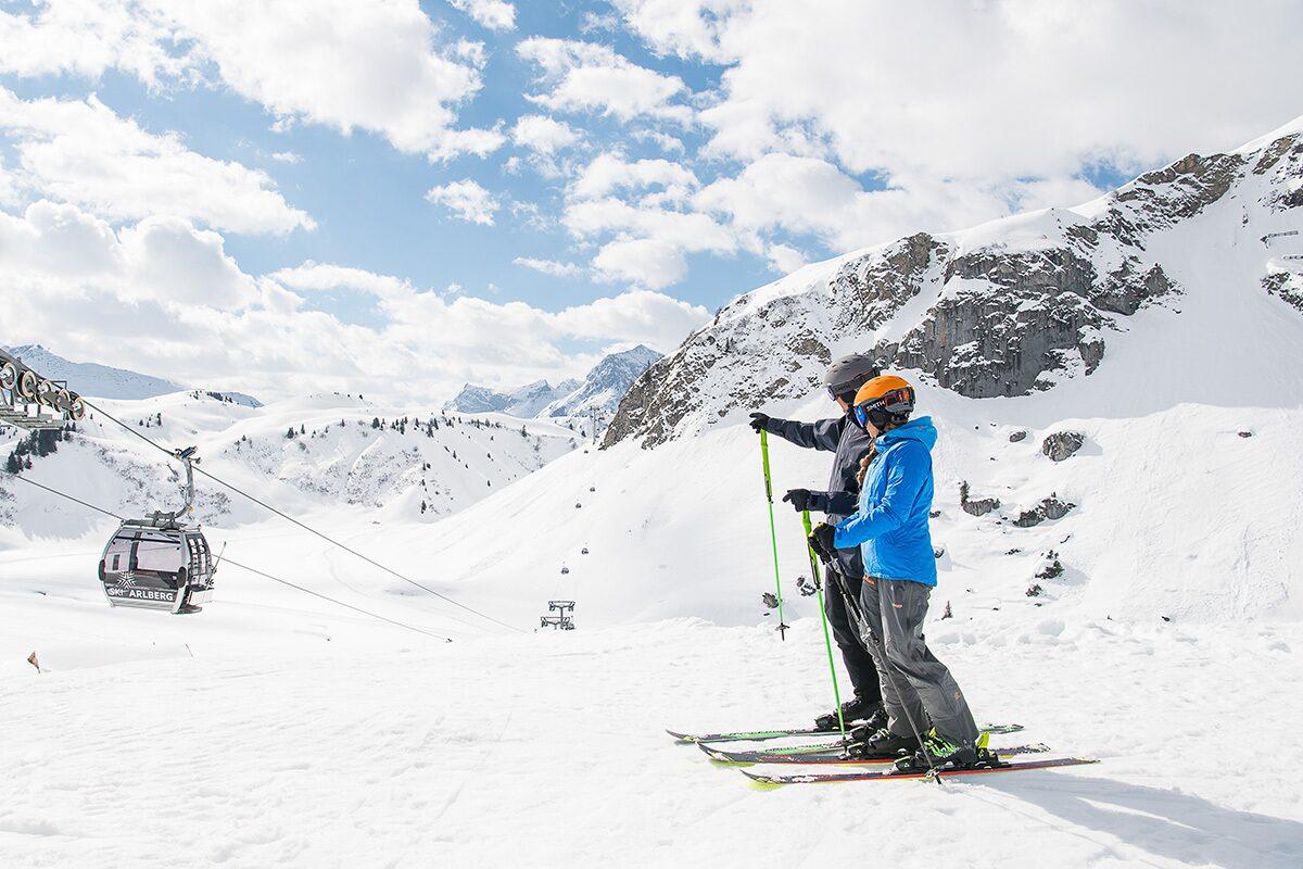 Skigebiet Warth - Schröcken