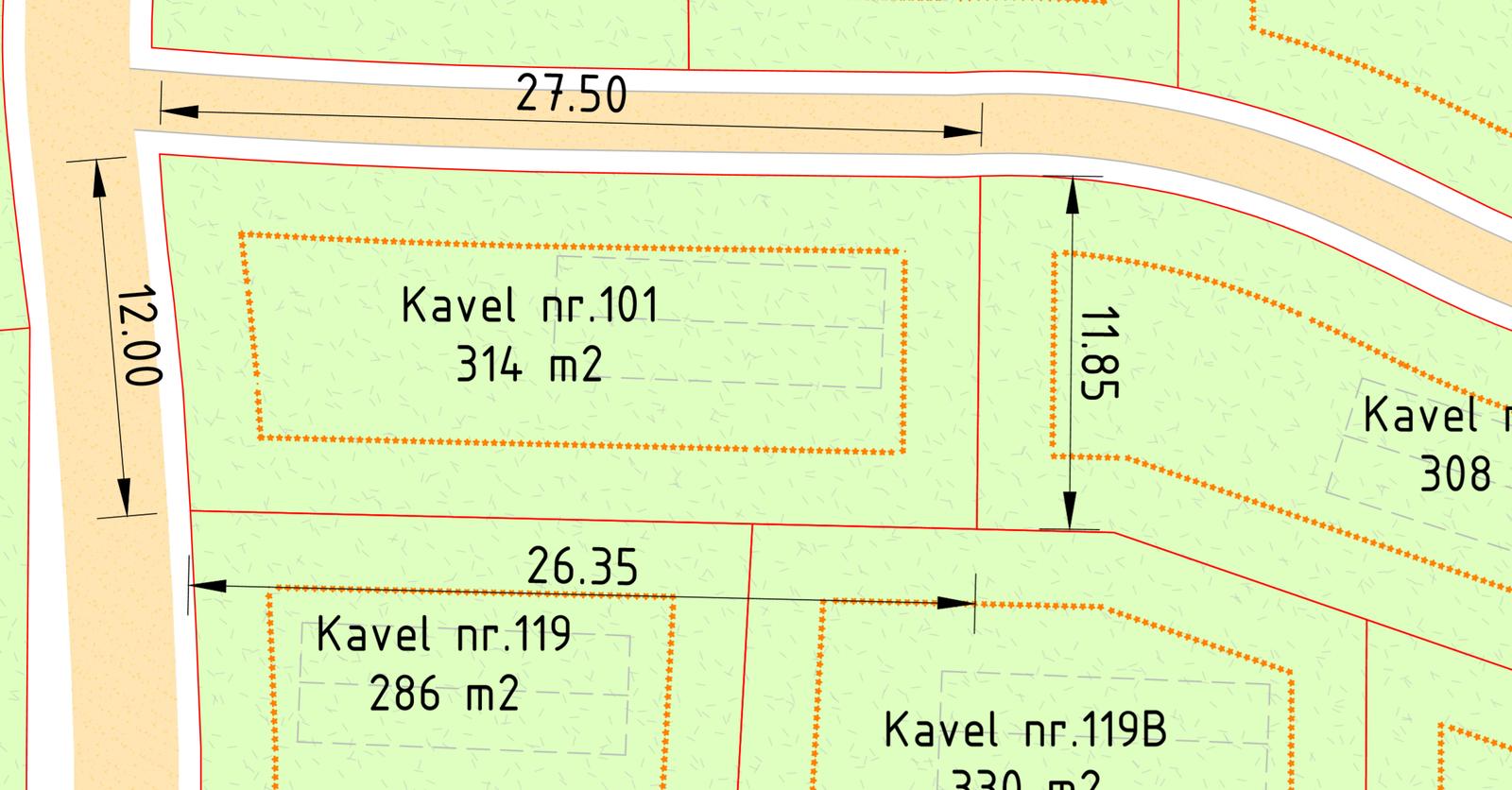 Kavel 101