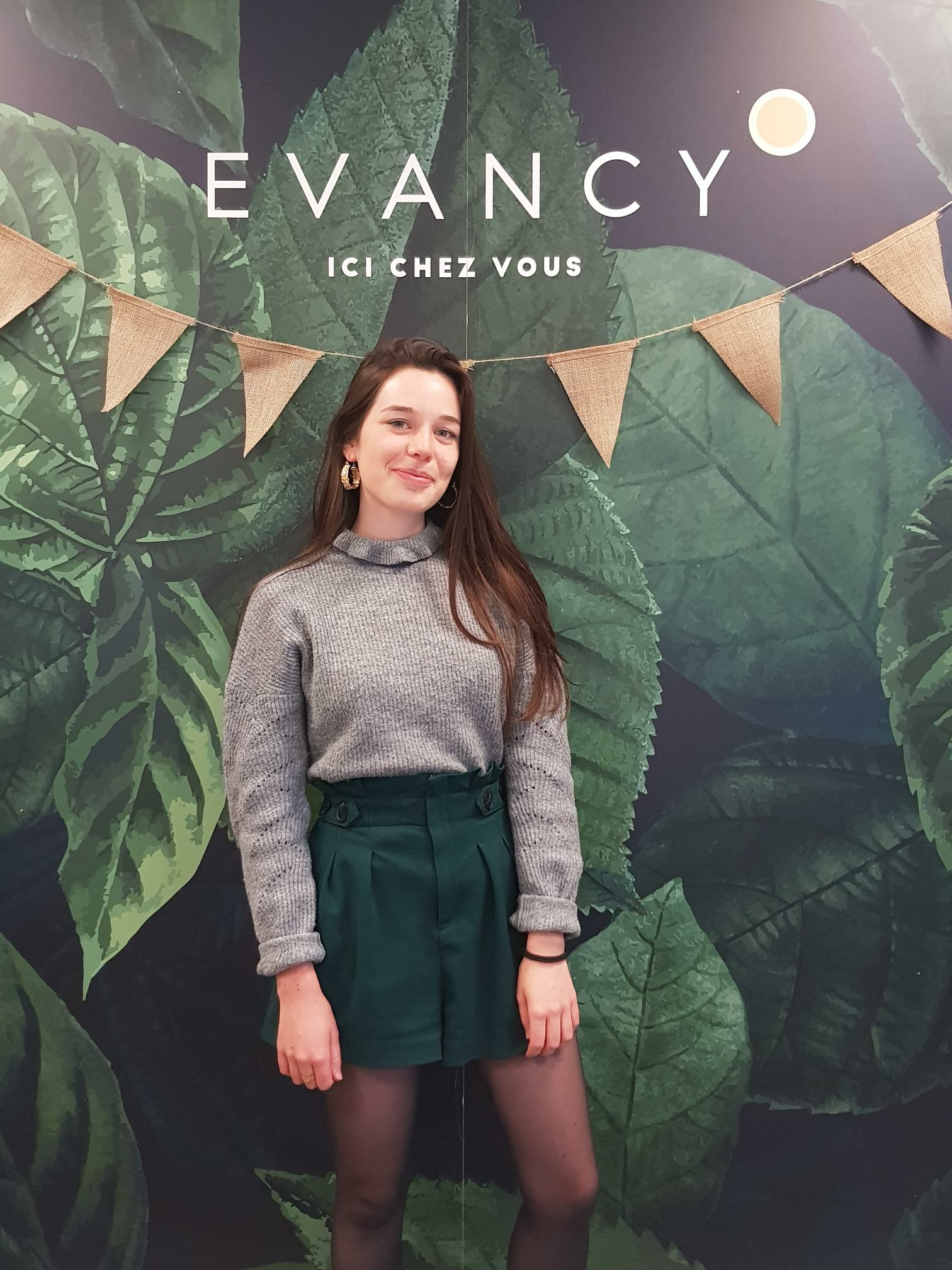 Manon Lhotelier Marketeur Digital chez Evancy