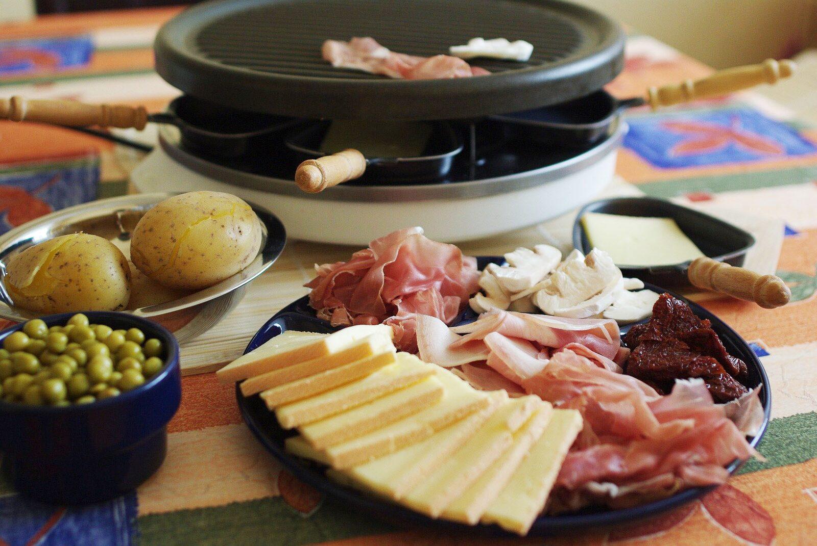 Nieuw: Raclette-avonden