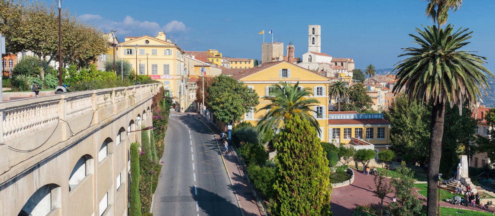 Visit the town of Grasse on the French Riviera